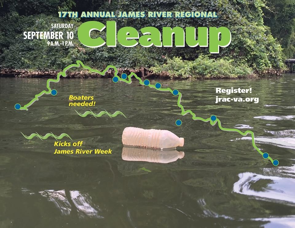 17th annual James River Cleanup