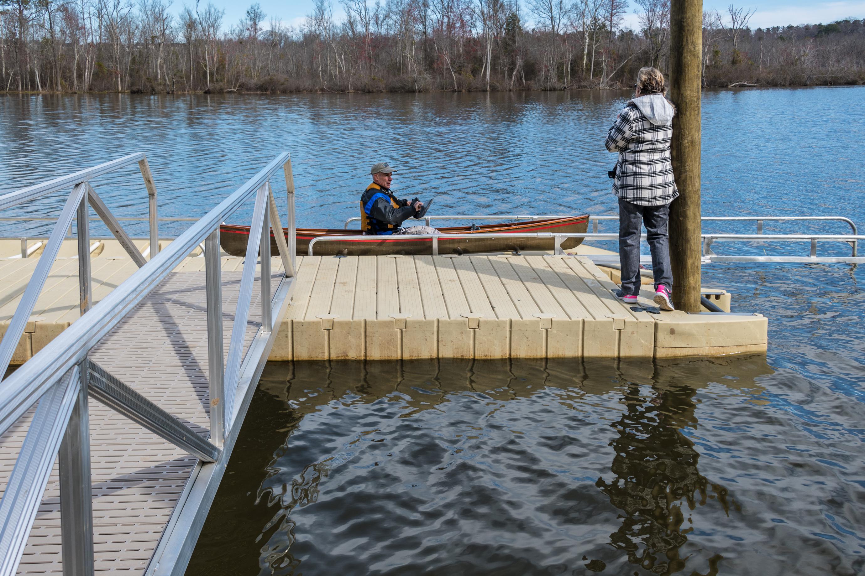 Canoe-Kayak launch opens at Appomattox Regional Riverside Park